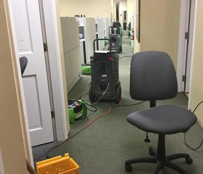 Water Leak Affects Office and Disrupts Business