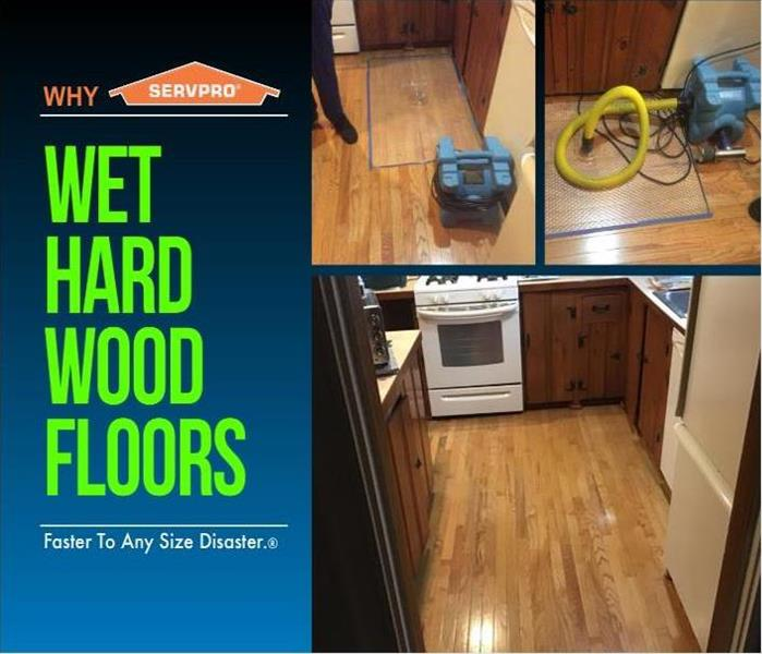 Wet Hardwood Kitchen Floors