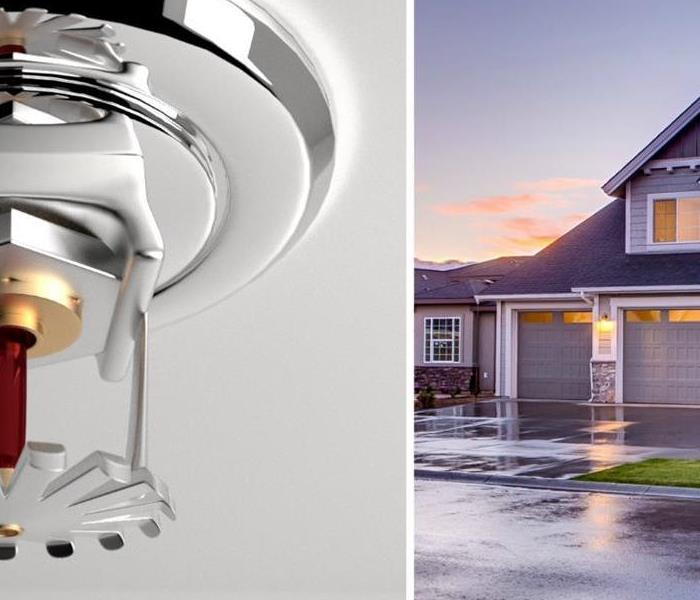 Fire Damage  Home Fire Sprinklers can Dramatically Reduce Heat, Flames, and Smoke