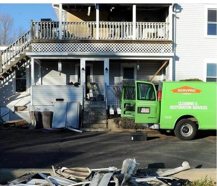 Fire Damage SERVPRO of Newton / Wellesley To The Scene
