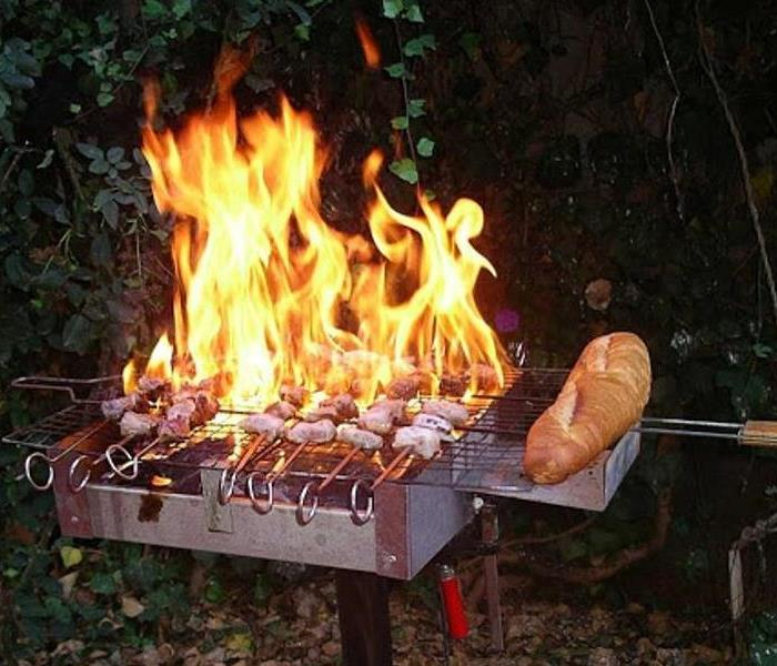 Fire Damage Think Before You Grill